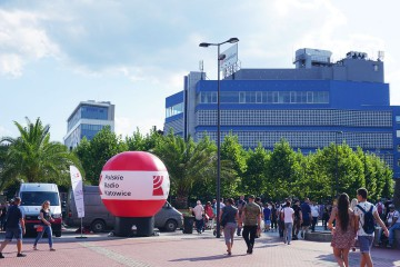 Balon reklamowy (model Gamma) Polskie Radio Katowice