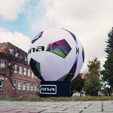 Balon reklamowy Gamma jako replika piłki nożnej ZINA