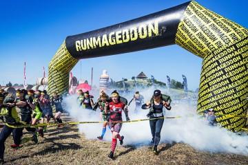 Brama biegowa wielokąt Runmageddon