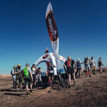Namiot stałociśnieniowy VENTO na Saharze