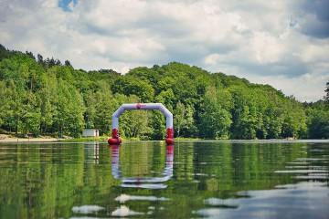 Pływająca brama z płozami - linia VENTO