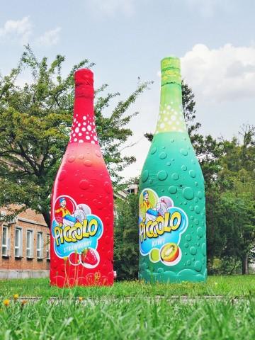 Stałociśnieniowe repliki produktów - butelki szampana dla dzieci Picollo